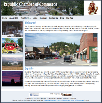 Republic Chamber of Commerce Website